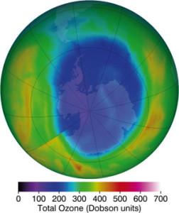 Trou Antarctique ozone 20120912