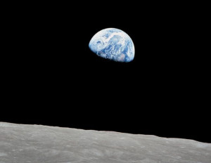 Terre vue d'Apollo 8