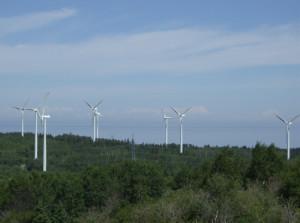 Éoliennes, Cap-Chat, Québec
