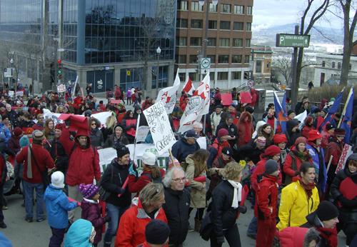 Marche pour le climat Québec