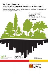 Affiche Frein transition écologique