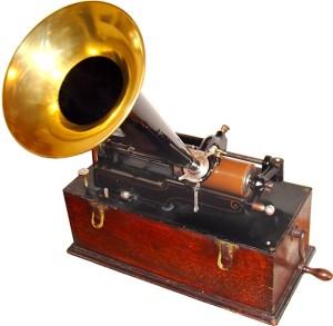 Phonographe Edison