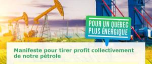 Manifeste pour tirer profit collectivement de notre pétrole
