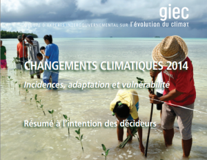 GIEC Rapport groupe 2